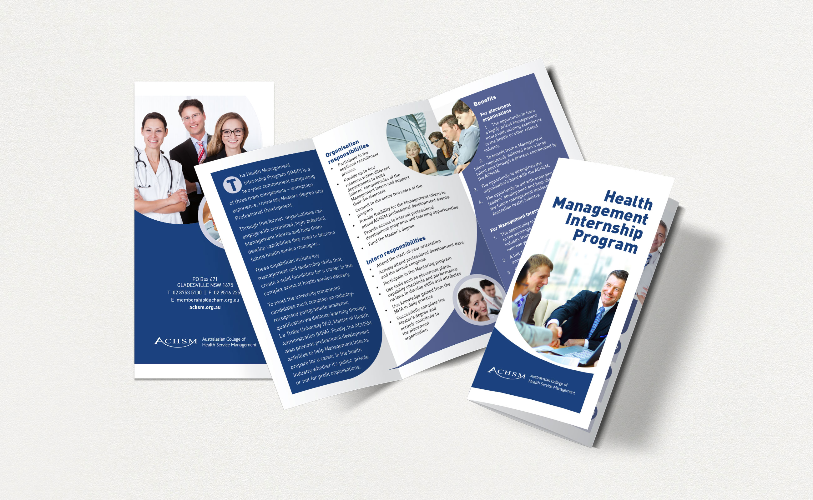 ACHSM HMIP brochures